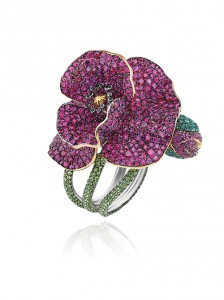 829236-9001 Flower Ring from the Red Carpet Collection 2013 p