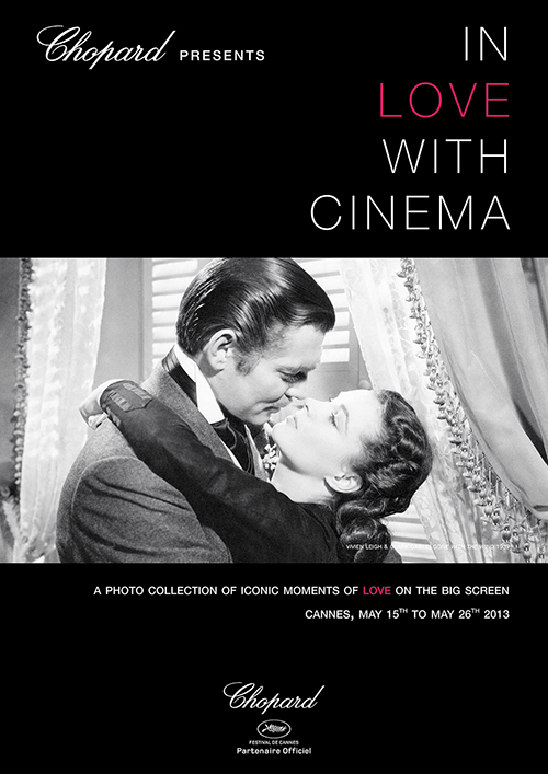 In Love With Cinema Photo Exhibition Poster Gone With The Wind p
