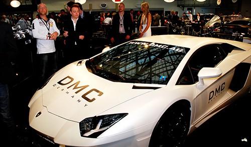 Une voiture allemande, bien class+®e, +®galement, dans le succ+¿s des visiteurs